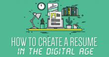 How to create a resume in the digital age