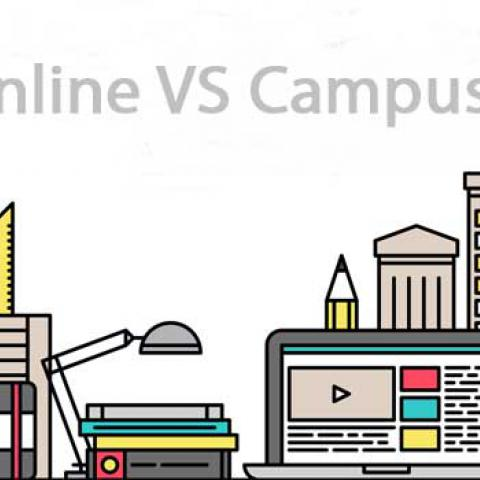 online learning vs on campus learning What is the cost of online education vs while its on-campus students might be charged additional fees depending on which campus they attend and the program.